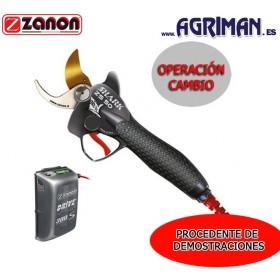 "TIJERA ELECTRÓNICA ZANON SHARK ZS-50 + batería DRIVE 300 ""DEMO"""