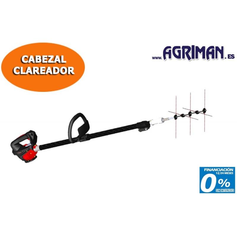 CABEZAL CLAREADOR DE FRUTOS TELESCOPICO 93-130 CM AGRIMAN