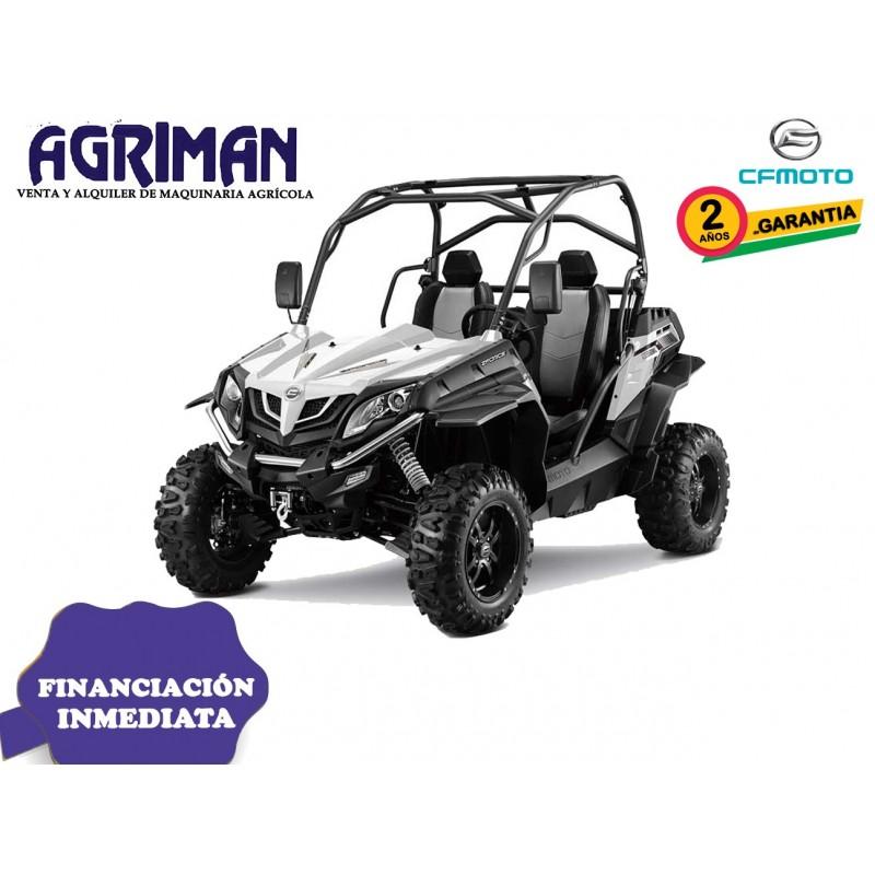 ZFORCE 550EX MODELO TRACTOR HOMOLOGACIÓN T-1 AGRIMAN