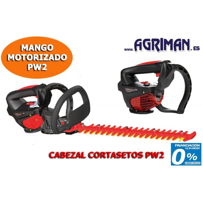CABEZAL CORTASETOS PARA PW2 AGRIMAN