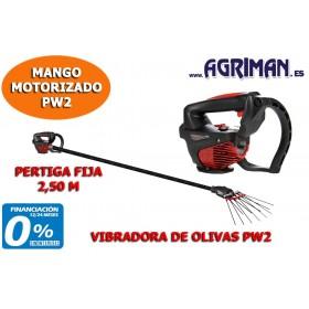CABEZAL VIBRADORA DE OLIVAS PW2 PERTIGA FIJA 2,50 M AGRIMAN