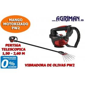 CABEZAL VIBRADORA DE OLIVAS PW2 PERTIGA TELESCÓPICA 1,50 - 2,60 M AGRIMAN