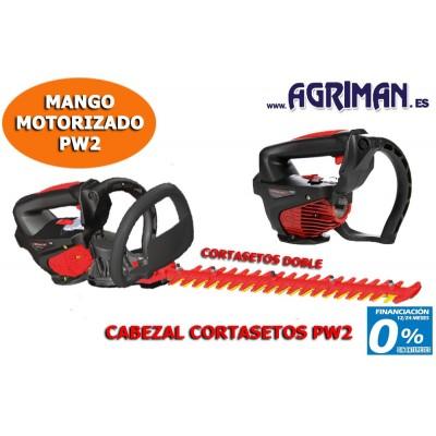 CABEZAL CORTASETOS DOBLE PARA PW2 AGRIMAN