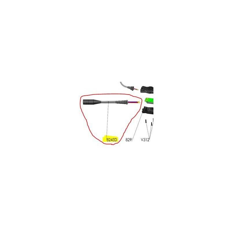 REPUESTOS TIJERA PODA ELÉCTRICA ELECTROCUP: 824ED CABLE ENTRADA DSES3015 Válidos para: F3015(KIT DE CABLE DE SEGURIDAD)