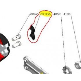 REPUESTOS TIJERA PODA ELÉCTRICA ELECTROCUP: 821GB TAPA TORNILLO MACHO Válidos para: F3015(KIT MAXI)