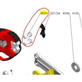 REPUESTOS TIJERA PODA ELÉCTRICA ELECTROCUP: 806V TORNILLO MACHO F3015 Válidos para: F3015(KIT MAXI)