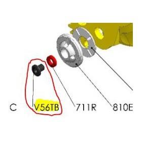 REPUESTOS TIJERA PODA ELÉCTRICA ELECTROCUP: V56TB TORNILLO 5x6 BASE CABEZAL F3015 Válidos para: F3015(KIT ESTÁNDAR)