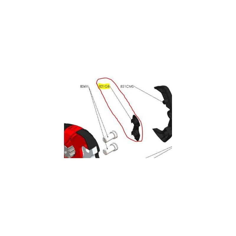 REPUESTOS TIJERA PODA ELÉCTRICA ELECTROCUP: 821GB TAPA TORNILLO MACHO Válidos para: F3015(KIT MEDIO)