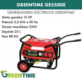 GENERADOR GREENTIME GE5500E