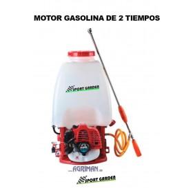 SULFATADORA DE MOCHILA CON MOTOR 2T A GASOLINA