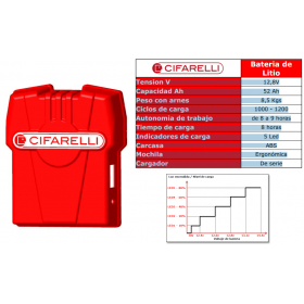 Batería Cifarelli LITIO 12v