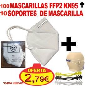 100 MASCARILLAS KN-95 DE...