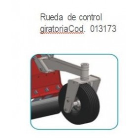 RUEDA DE CONTROL GIRATORIA TRDH-SD