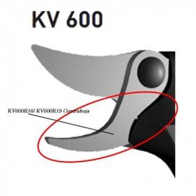 CONTRAHOJA/MACHO PARA TIJERA KAMIKAZE Ø30 KV600 (ref: KV600R16)