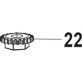PIÑON/ TUERCA FIJACION CUCHILLA ZM25 ZANON  5315571
