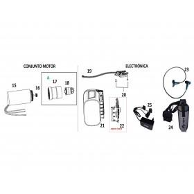 UNIDAD DE CONTROL ELECTRÓNICA PARA TIJERA PS37/ EPR137 (ref:30070119012)