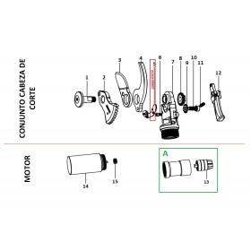 SECTOR HALL-PCB PARA TIJERA EC30 (ref: 30000119012)