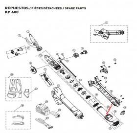 MOTOR Y CRCUITO DE CONTROL PARA TIJERA KAMIKAZE KP400(ref:KP400R19)