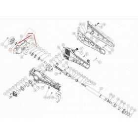 CARCASA SOPORTE MOTOR C5 CPL PARA VEREADOR SC605 (ref:9922300)