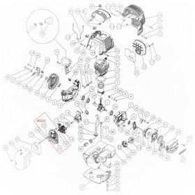 PISTON COMPLETO DEL MOTOR PARA VEREADOR SC605/C5 2008 (ref: 9923203)