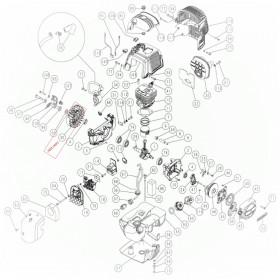 VOLANTE CON ALETAS DEL MOTOR PARA VEREADOR SC605 (ref:3007403)