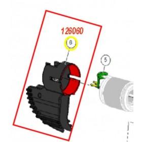RADIADOR + RLT TRASERO TUBO PRUNION PELLENC 126060