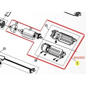CONJUNTO MOTOR Y REDUCTORA PARA TIJERA KAMIKAZE KV600/ KV700(ref:KV600R25)
