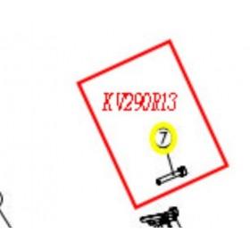 TORNILLO CARCASA HOJA M3X18 TIJERA KAMIKAZE KP280 (ref: KV290R13)