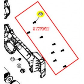 TORNILLO CARCASA HOJA M2.6X8 TIJERA KAMIKAZE KV290/KP280 (ref: KV290R22)