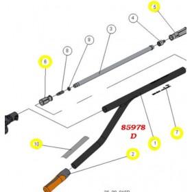 TUBO TREELION D45-1500 COMPLETO TREELION PELLENC 85976