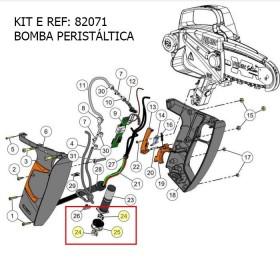 KIT E / BOMBA PERISÁLTICA PZAS SEILON M12 REF 82071