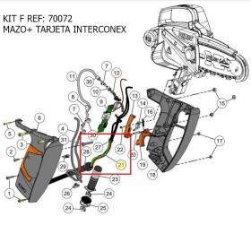 KIT F / MAZO+ TARJETA INTERCONEX SEILON M12 REF 70072