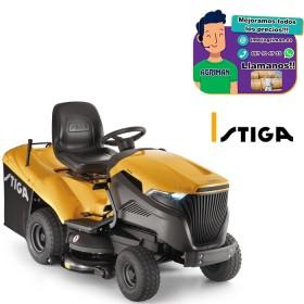 TRACTOR CON RECOGIDA 6102 HW2 MOTOR STIGA ST650 Twin