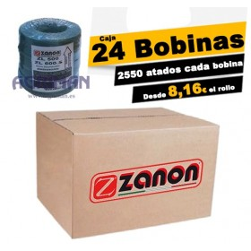 Caja 24 Bobinas hilo Zanon...