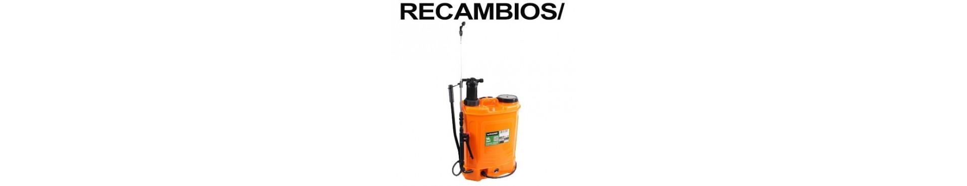 RECAMBIOS PULVERIZADOR MADER MANUAL Y BATERIA DE LITIO(69092)